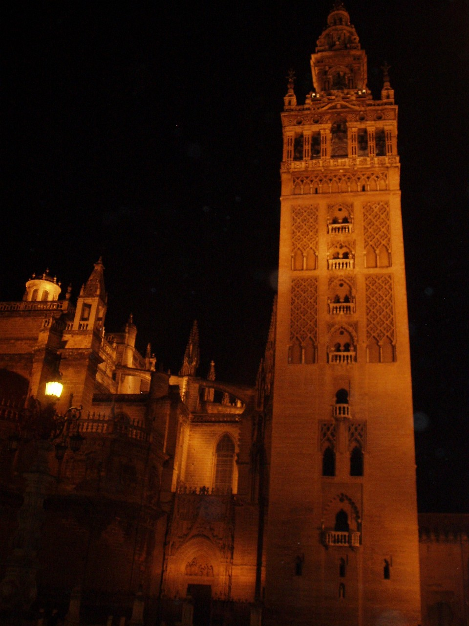 The Giralda (Cathedral Tower) in Seville
