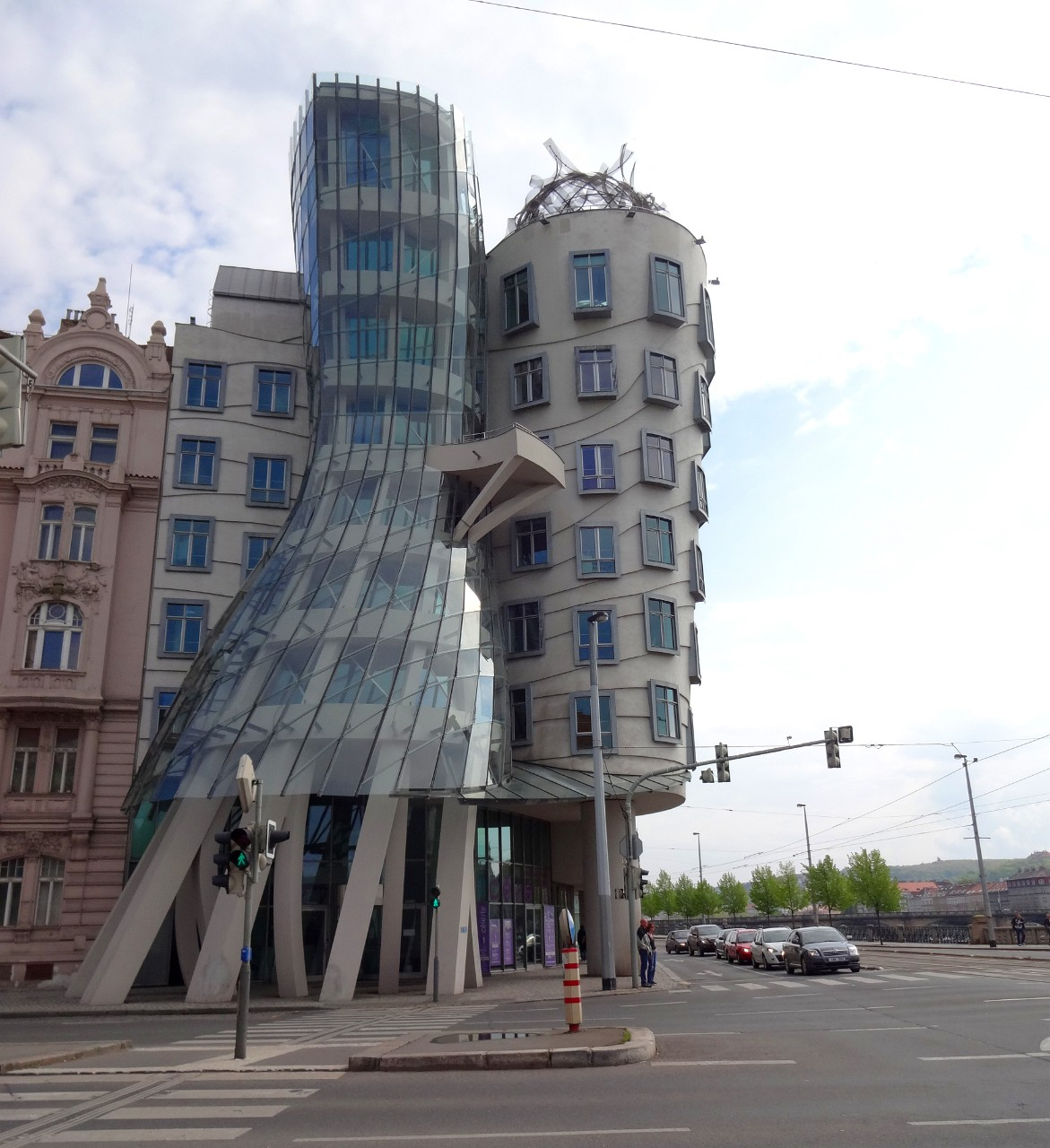 Fred and Ginger Dancing House