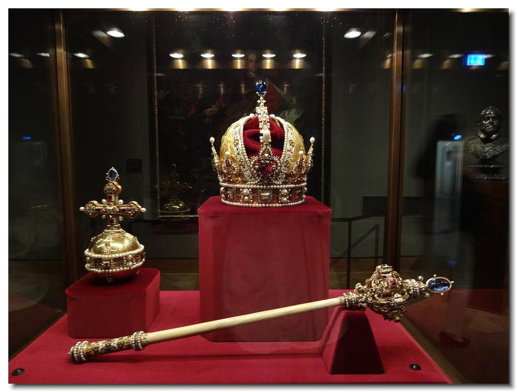 Rudolf II crown sceptre and orb