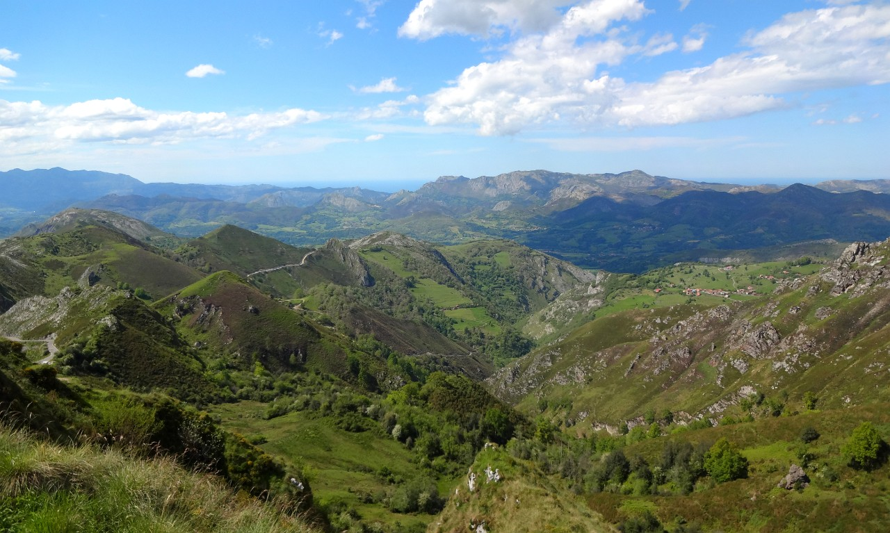 Viewpoint on the Covadonga drive