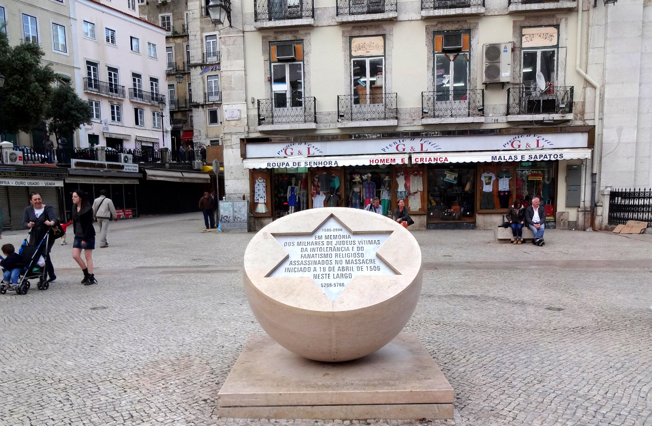 Memorial of Lisbon 1506 Massacre of Jews