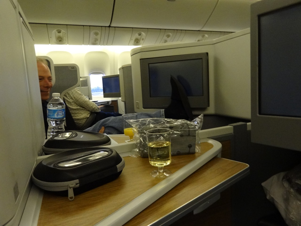 LAX to LHR American Airlines Business Class
