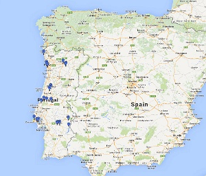 2014 Portugal, NW Spain and Paris