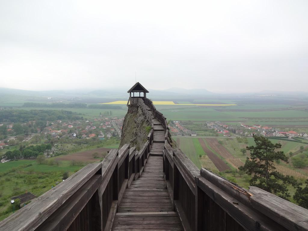 Lookout point at Boldogko Castle