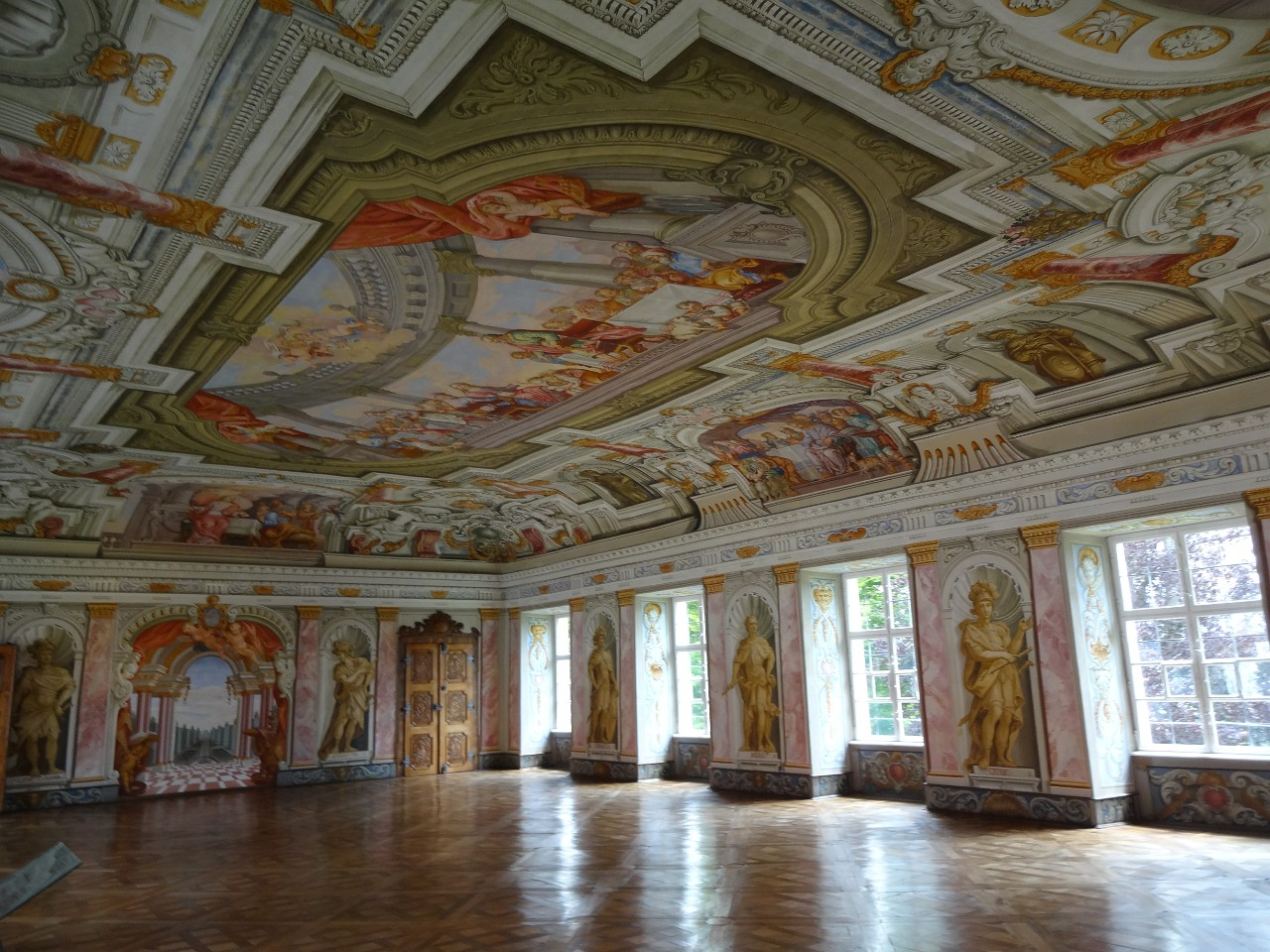 Royal Augustinian Monastery baroque Imperial Hall