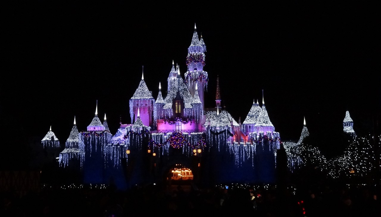 Walt Disney Sleeping Beauty Castle