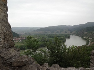 View from Durnstein ruins