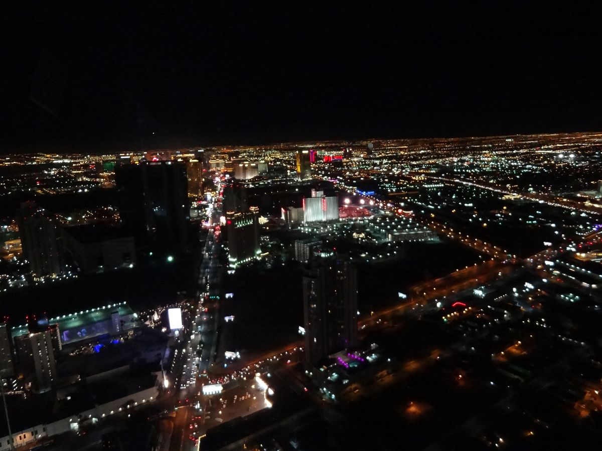 Vegas from the Stratosphere Outdoor Observation Deck