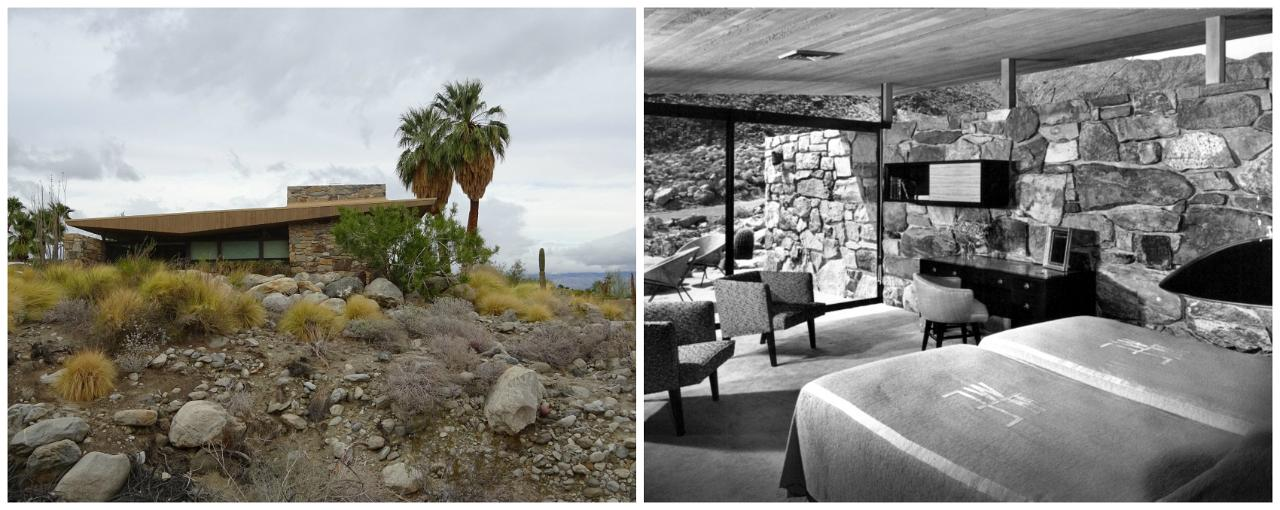 Biking a mid century modern tour in palm springs for The edris house palm springs