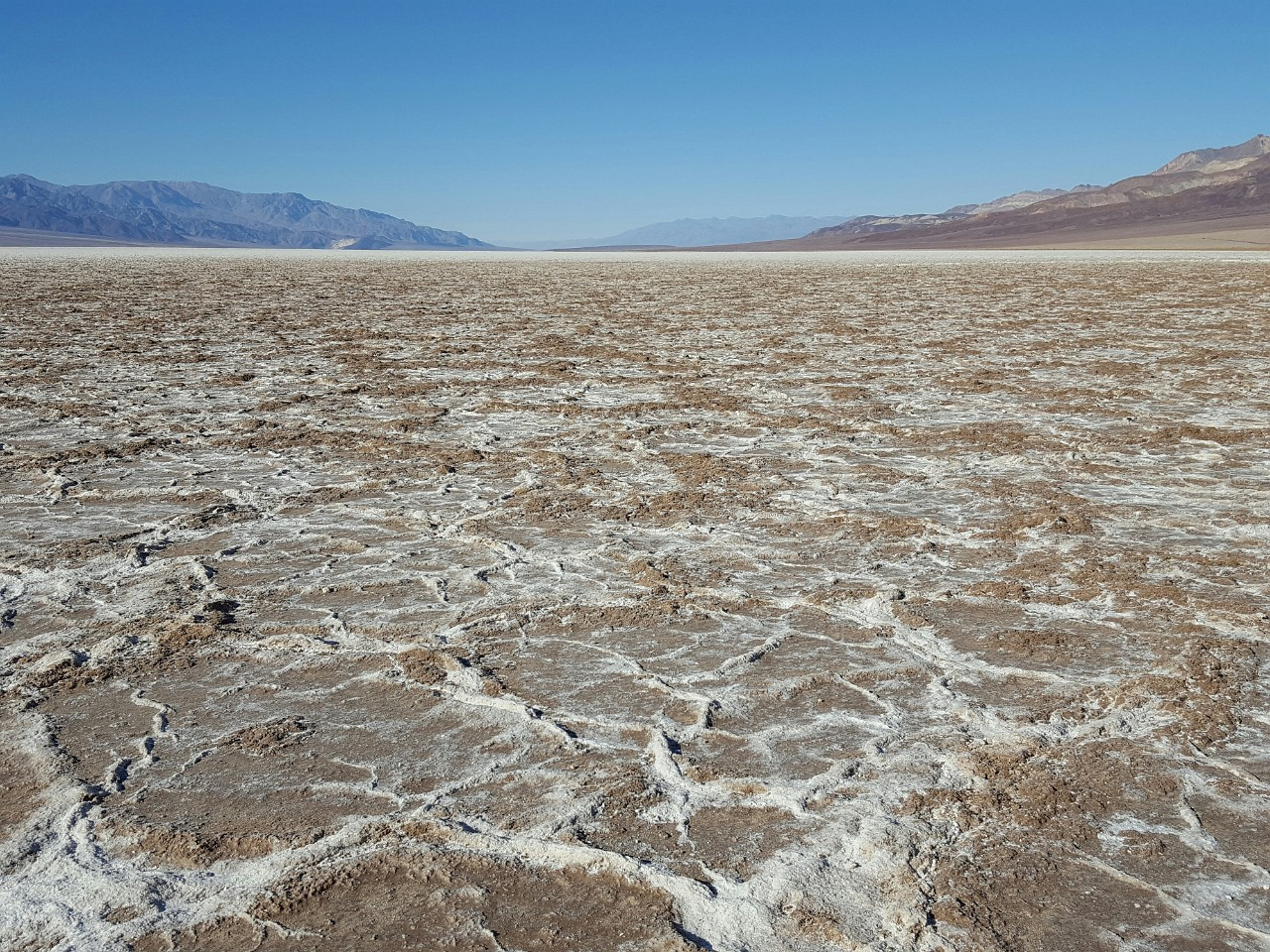 Salt waves of Badwater Basin