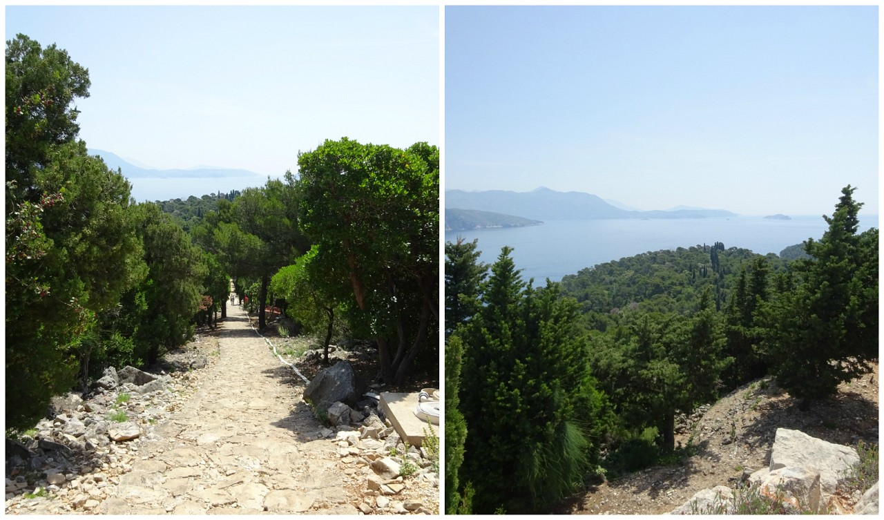 Lokrum path to the fort
