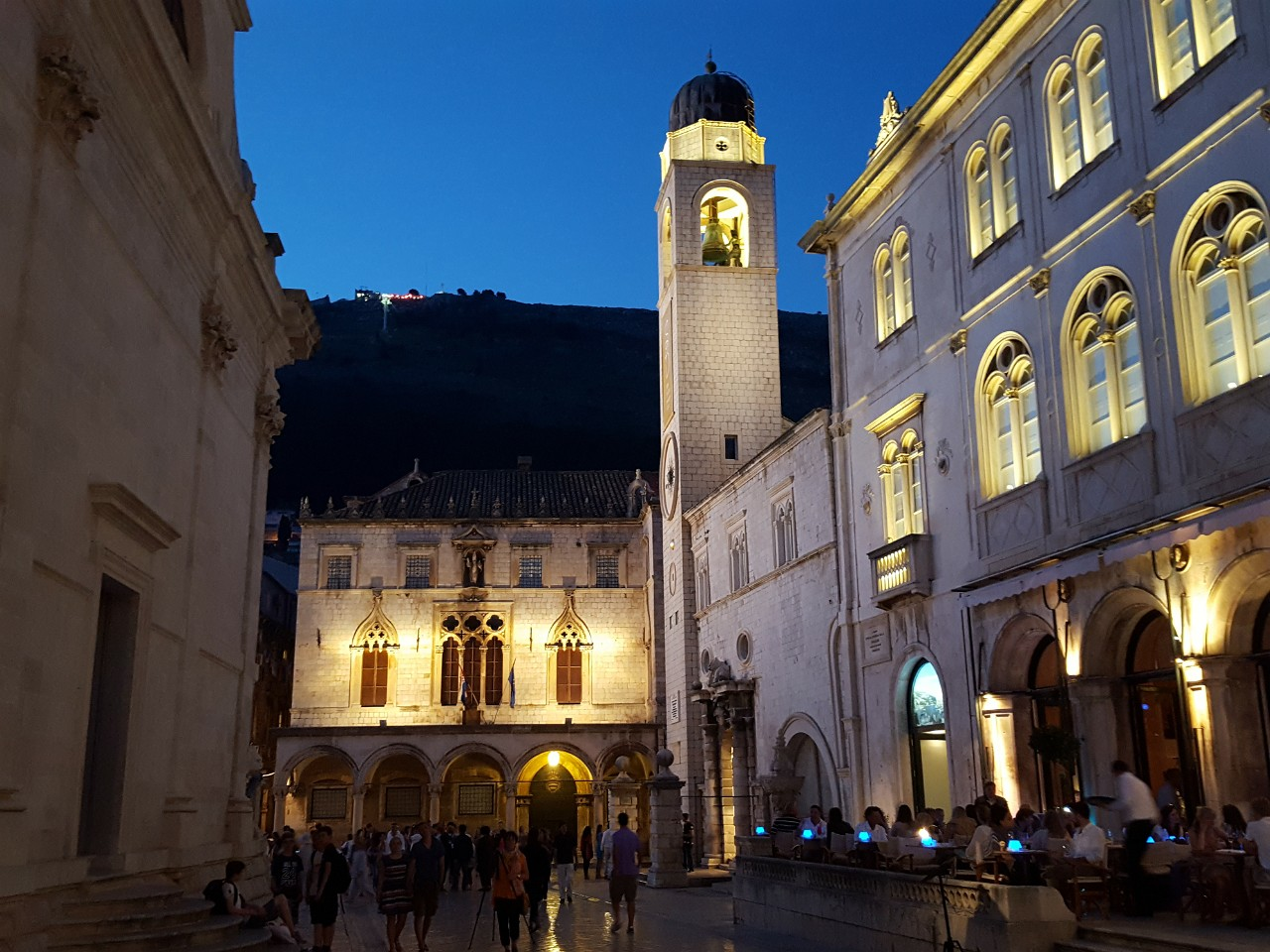 Rectors Palace, Clocktower and Sponza Palace