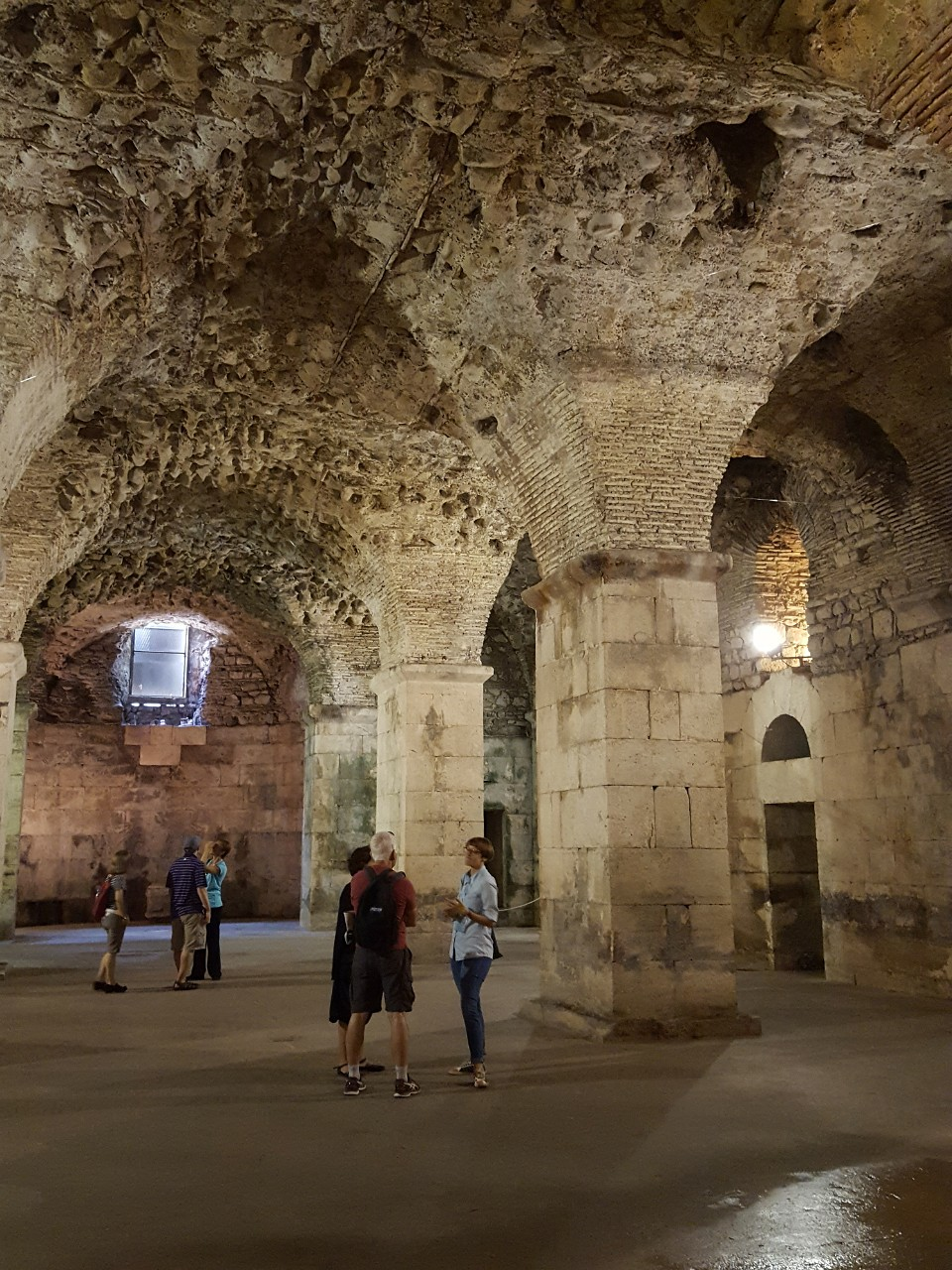 Diocletians cellars