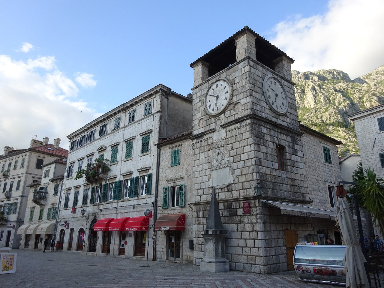 Clock Tower and Pillary