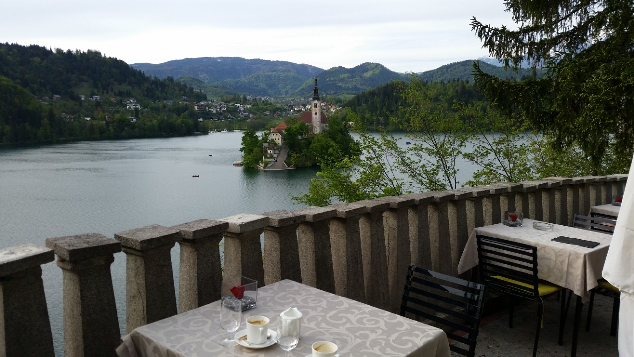 Belvedere Cafe of Vila Bled