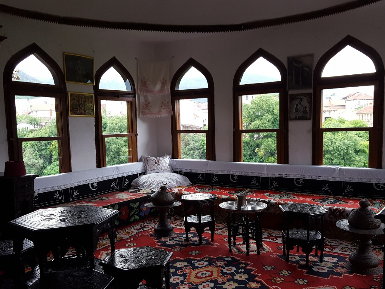Biscevic Turkish House main gathering room