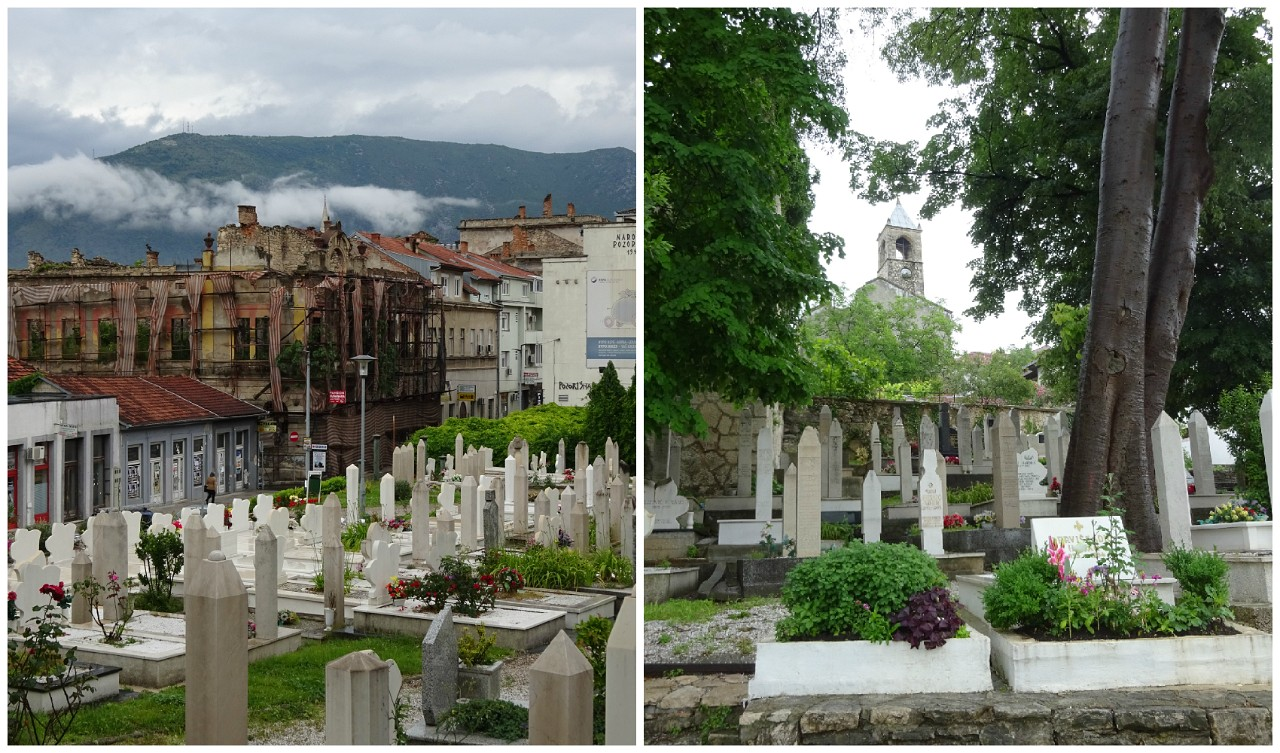Cemetery in Mostar
