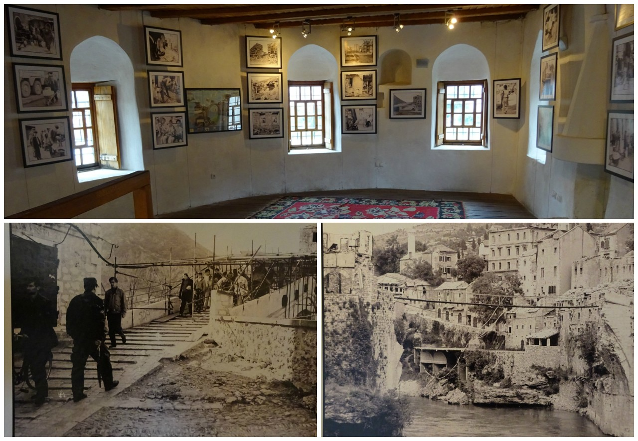 War Photos Exhibition in the Halebija Tower