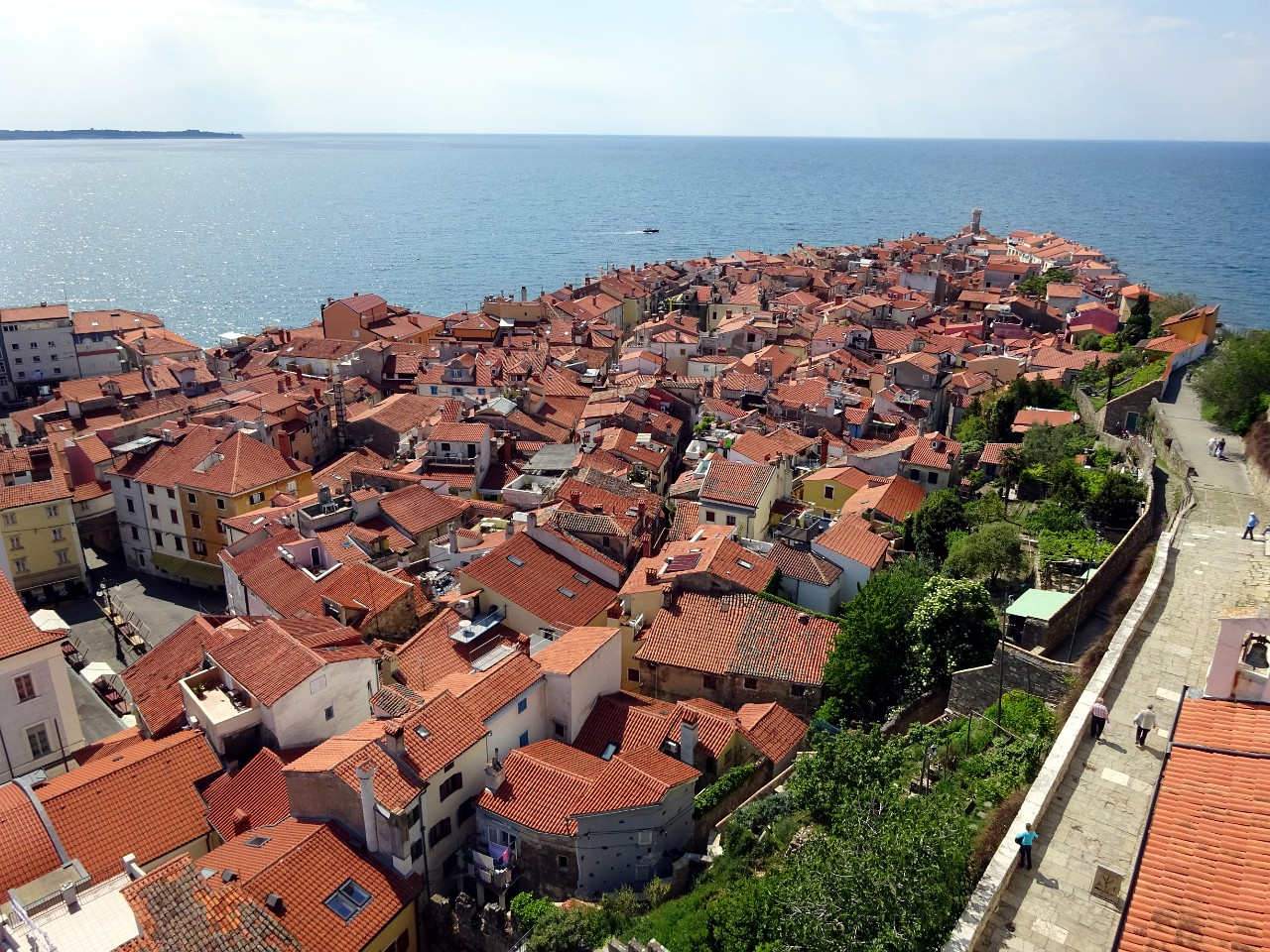 Medieval heart of Piran