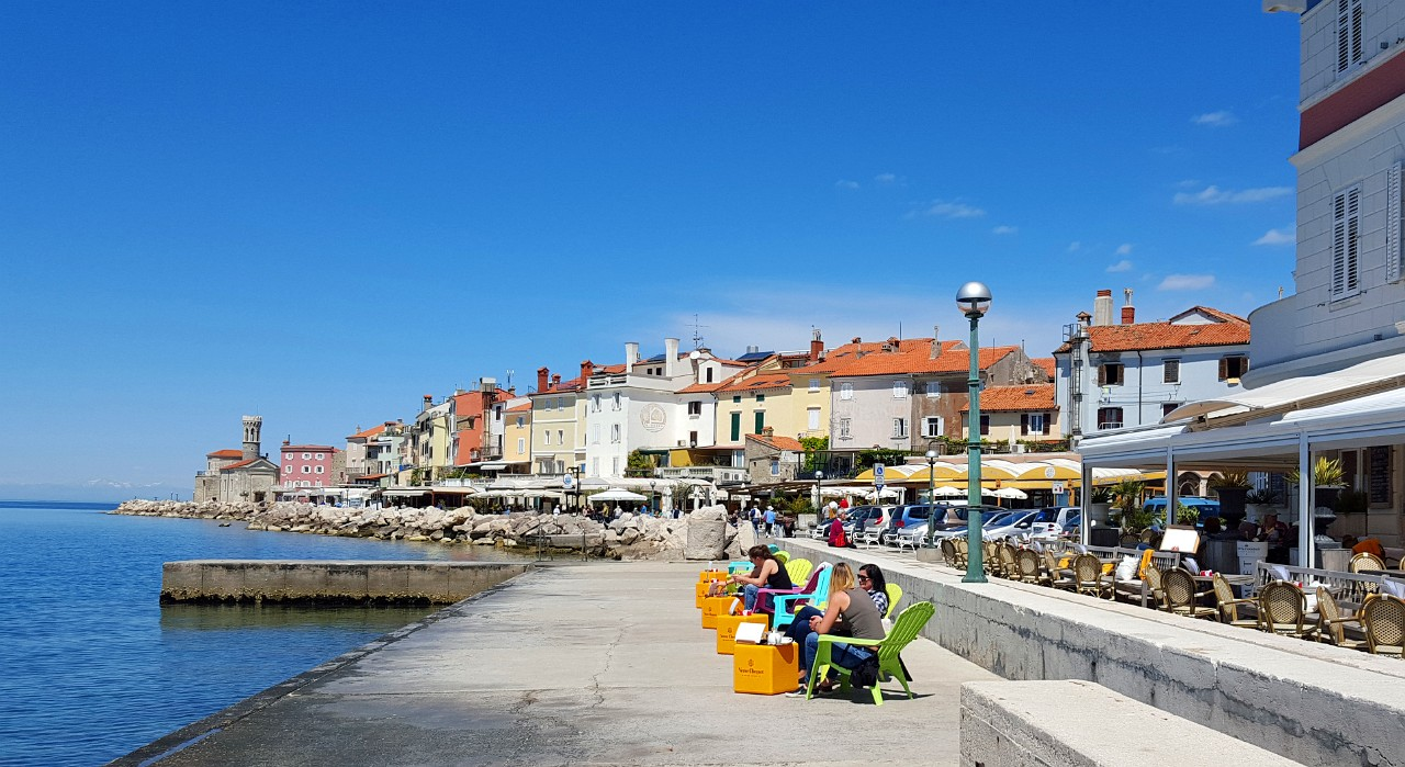 Piran waterfront