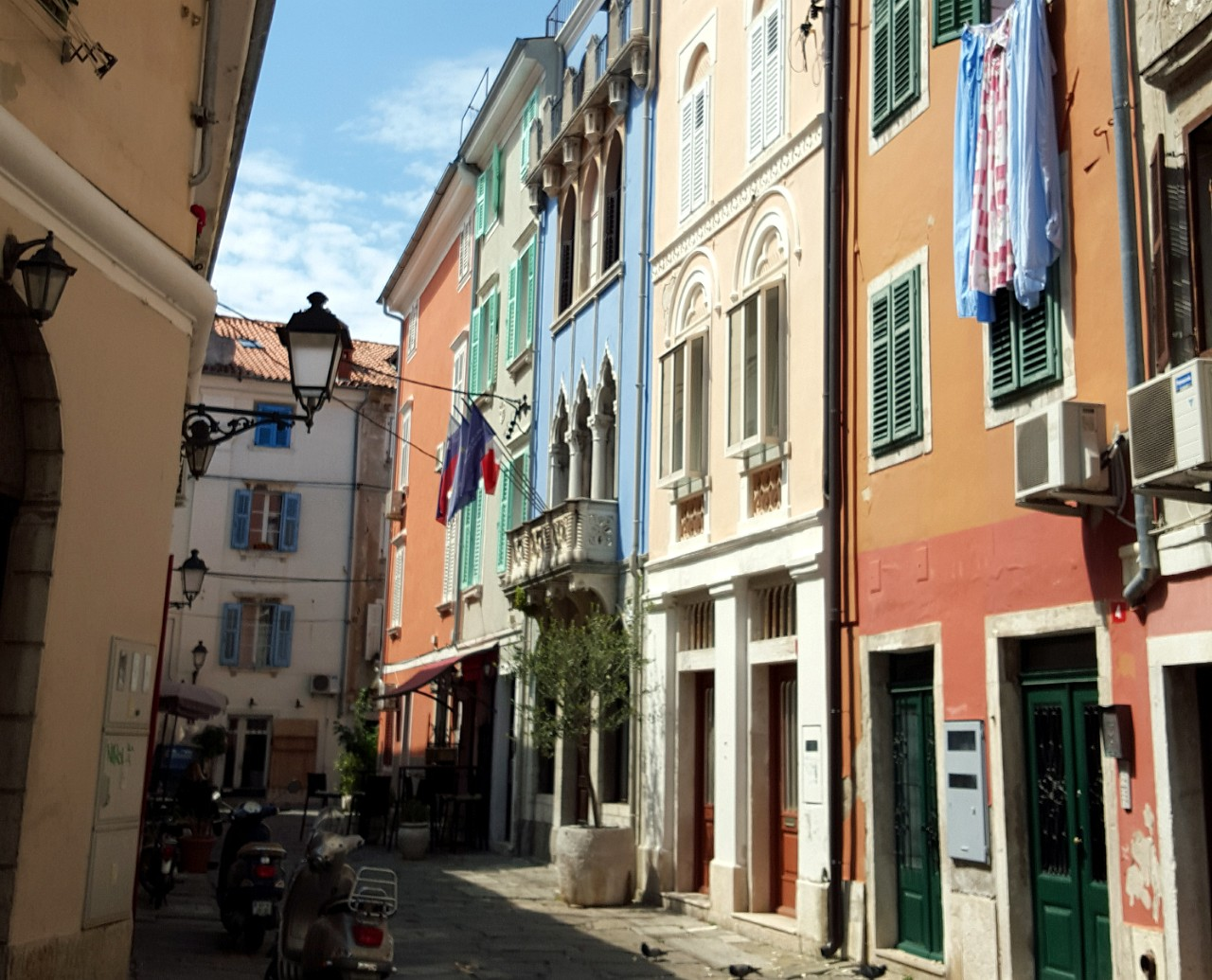 Venetian influence in Piran Music School