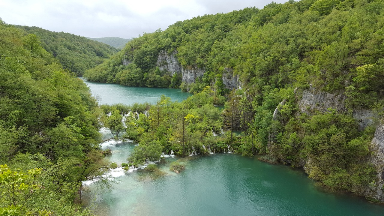 View from Plitvice panoramic trail