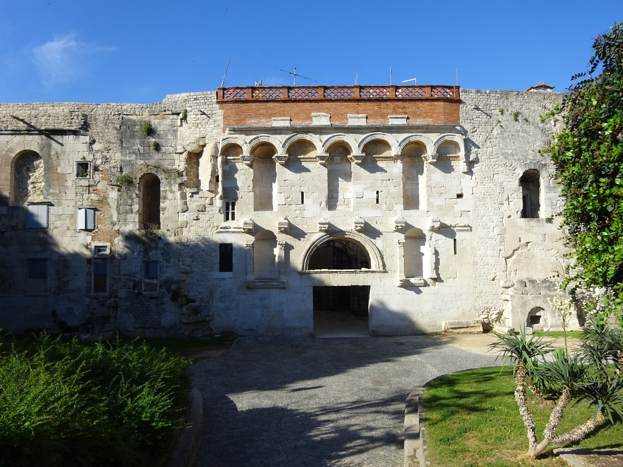 Golden Gate of Diocletian Palace