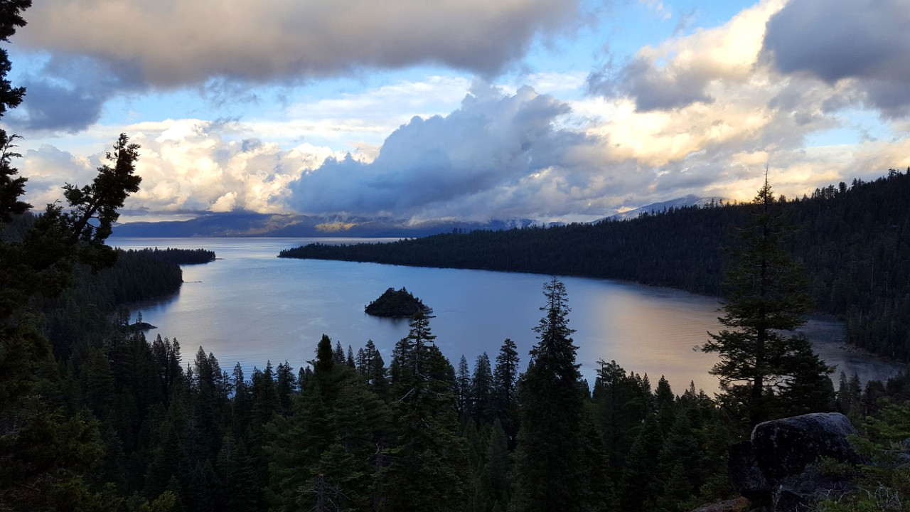 Emerald Bay in the evening
