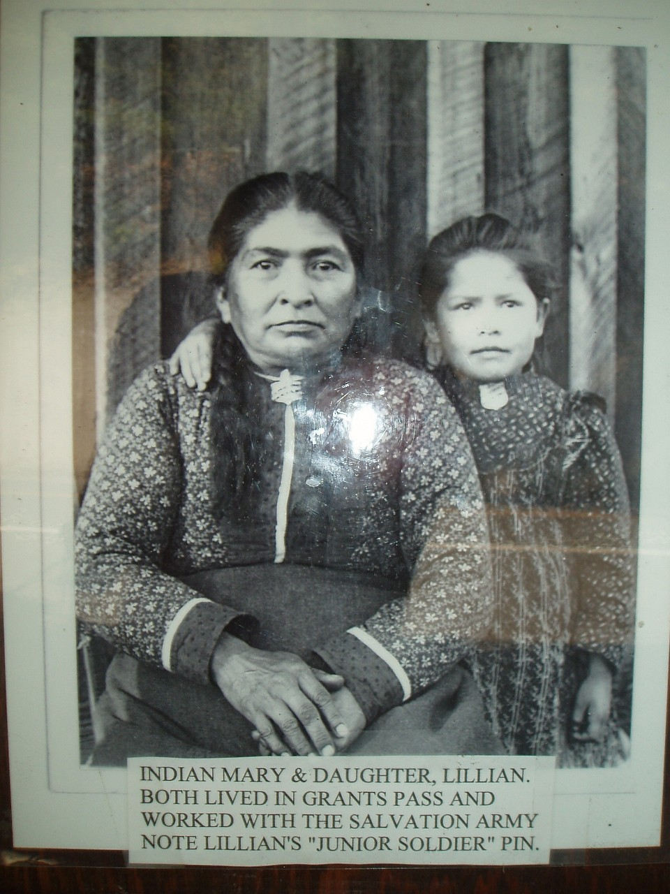 Indian Mary and daughter Lillian