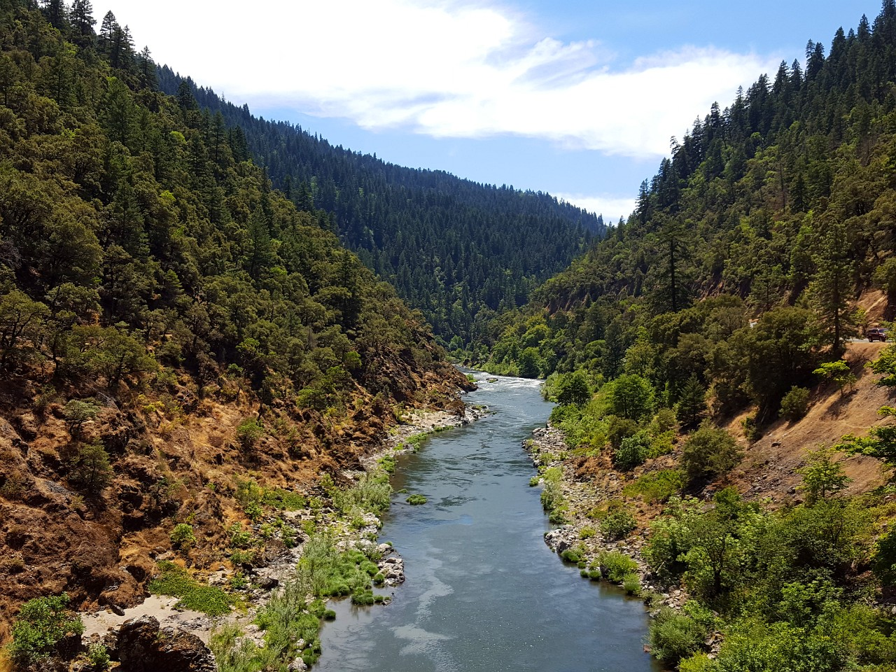 Rogue River from Grave Creek Bridge