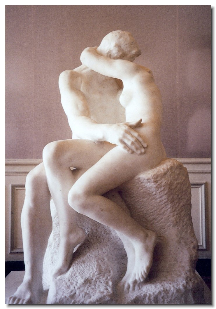 Rodin sculpture The Lovers