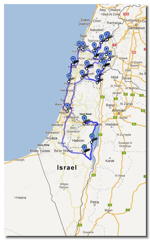 3 Weeks in Israel Holy Sites Ruins and Hikes rebeccasnydercom