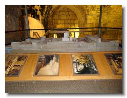 Kotel Tunnel Tour Model