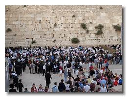 Shabbat at the Western Wall
