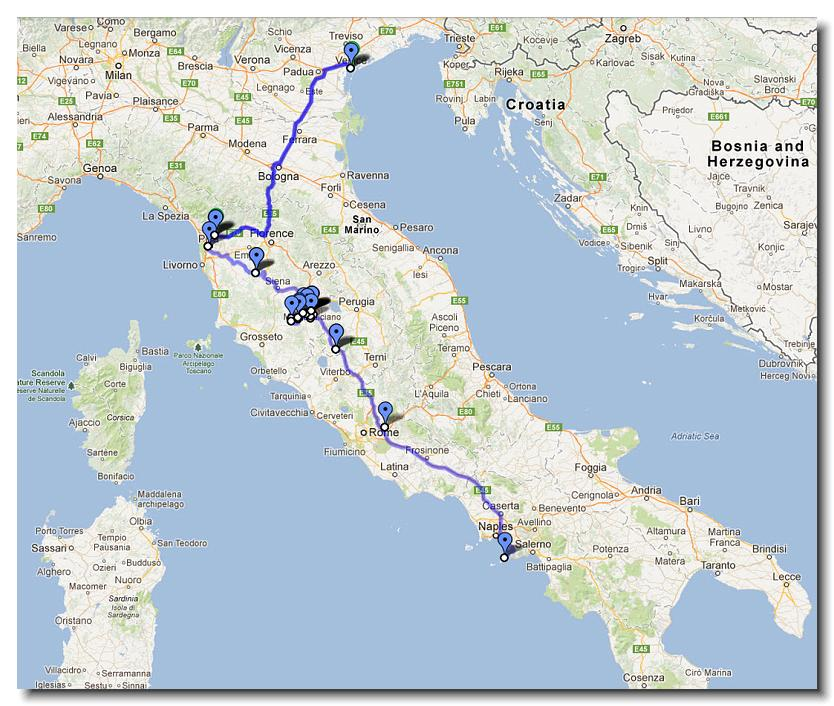 23 Days in Italy the City and Country Tour rebeccasnydercom