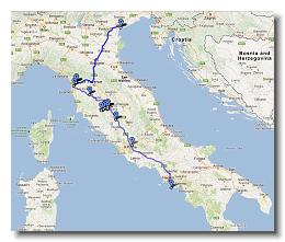 Italy Driving Tour