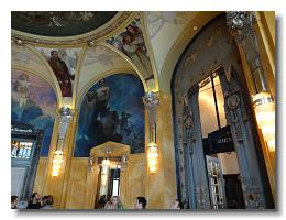 Municipal House tour - Alfons Mucha room