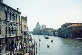 A Vaporetto Trip Down the Grand Canal