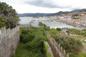 Medieval Fortress Ramparts in Baiona
