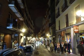 Calle de Cava Baja in Madrid