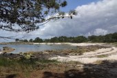 Panorama View from the Illa de Arousa Nature Preserve