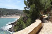 Platja de Pals From the Sa Riera Coastal Path