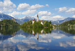 3 Nights in Beautiful Lake Bled – The Lake, Gorge, Drives and Medieval Towns